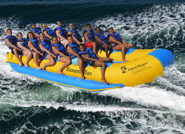 Picture of Island Hopper Side by Side Banana Bus - 14 person