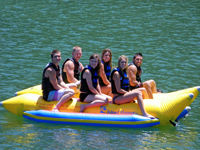 Picture of Island Hopper Elite Class Commercial Side by Side Banana Water Sled - 6 person