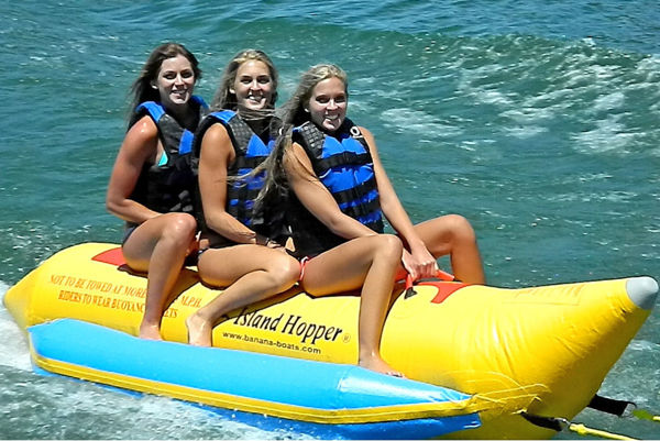 Picture of Island Hopper Banana Water Sled - 3 person