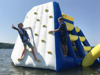 Picture of Rave Power Tower with Climbing Wall