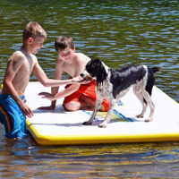 Picture of Rave Water Whoosh Floating Platform - 10'