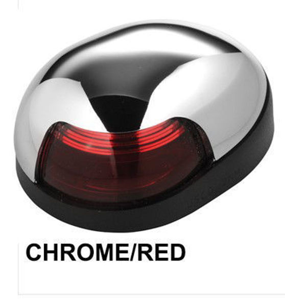 Picture of Quasar Chrome Red Side Light