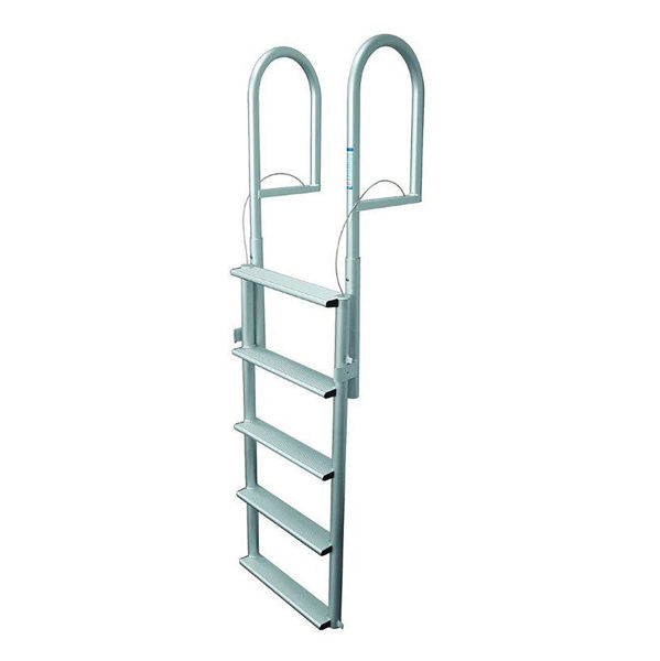 7 Step Aluminum Lift Dock Ladder