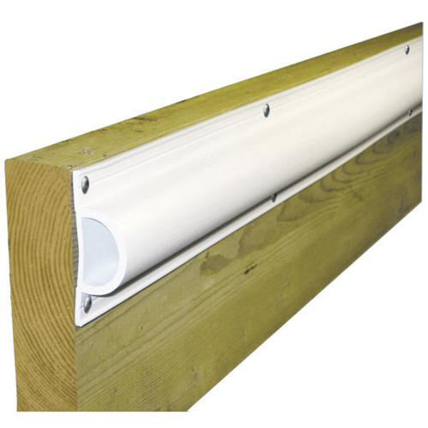 """Picture of Dock Edge Standard """"D"""" PVC Profile 16ft Roll - White"""
