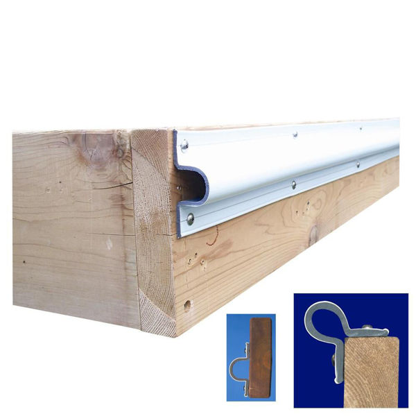 """Picture of Dock Edge """"C"""" Guard - 10' Roll"""