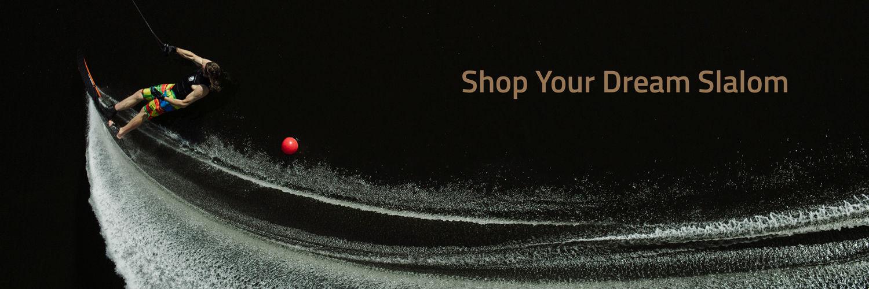Shop Your Dream Slalom Banner